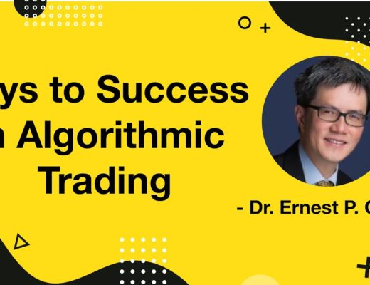 Keys to Success in Algorithmic Trading   Podcast   Dr. E.P. Chan