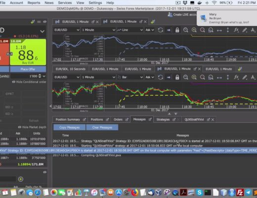 Latest discoveries in testing a forex algo trading strategy