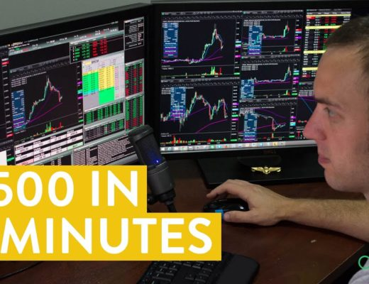 [LIVE] Day Trading   $500 in 2 Minutes (and a Learning Lesson)