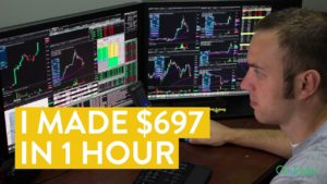 [LIVE] Day Trading | I Made $697 in 1 Hour Working From Home (Here's How...)