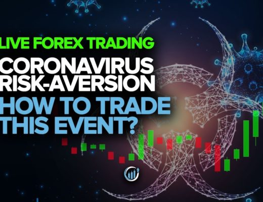 Live Forex Trading – Coronavirus Risk-Aversion Continues + How To Trade This Event?