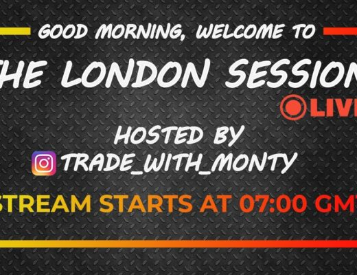 LIVE Forex Trading – LONDON, Weds , July, 15th  (Free Education)
