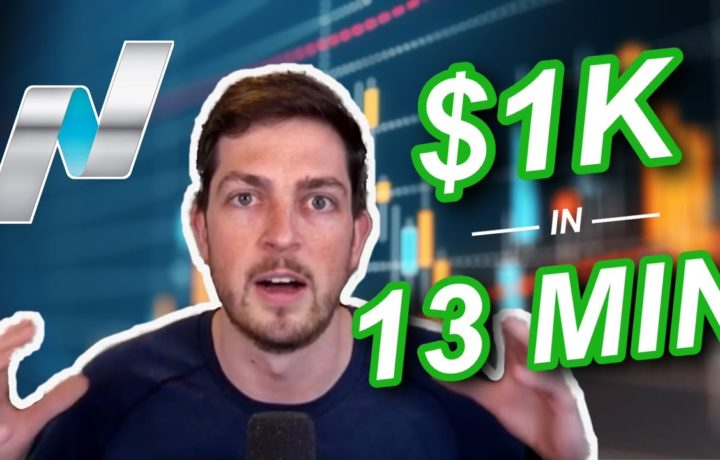 LIVE FUTURES DAY TRADING ($1000 in 13 MINUTES)