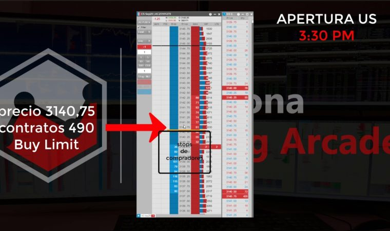 Live Trading – Scalping in the Order Book
