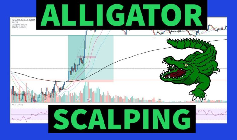 LOW RISK Alligator Scalping Strategy