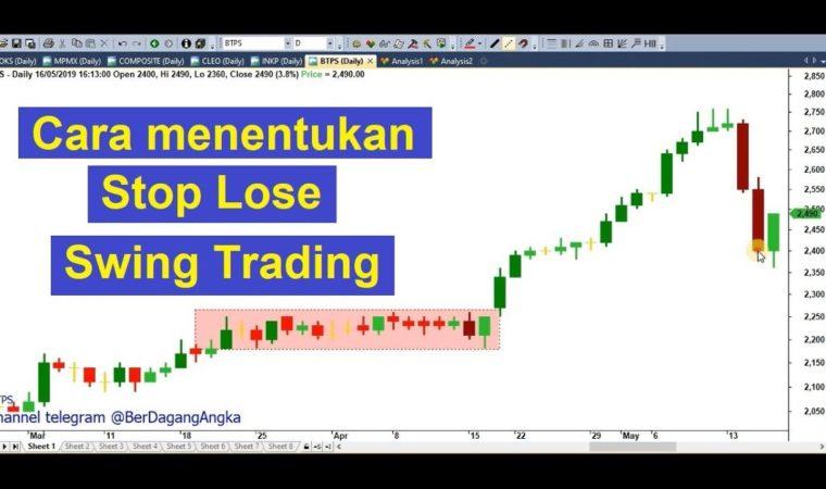 Menentukan StopLose untuk swing trade