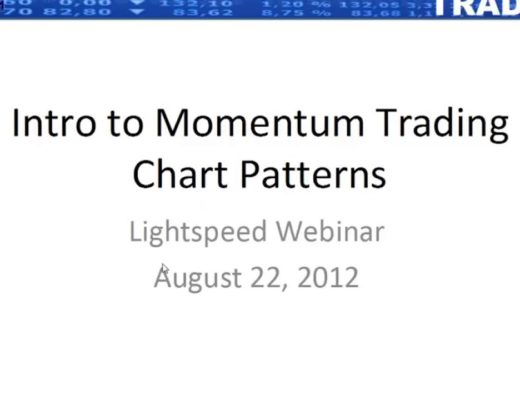 Momentum Trading Finding And Executing On Three Simple Patterns