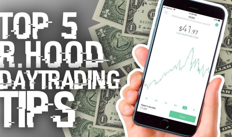 My TOP FIVE Tips for Day Trading On The Robinhood App – Mo' Money Mondays
