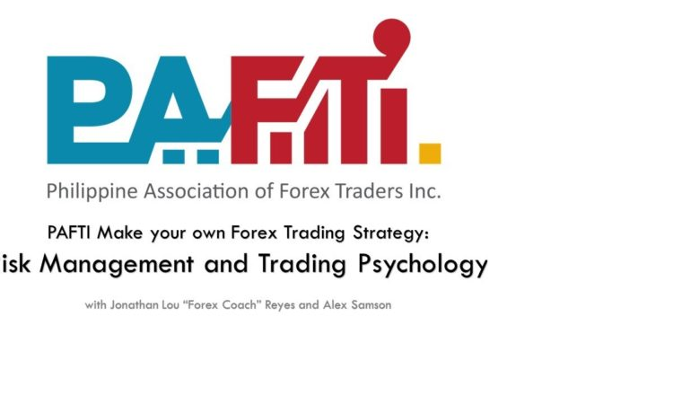 PAFTI Make Your Own Forex Trading Strategy – Risk Management and Trading Psychology