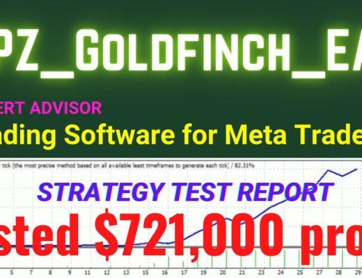 PZ Goldfinch EA updated $721,000 profit