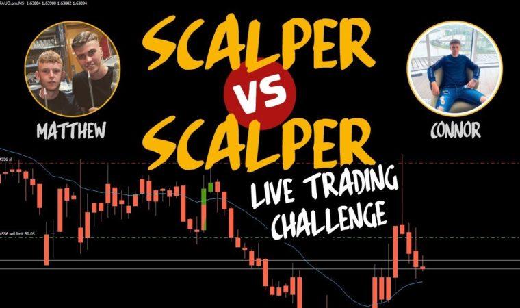 Scalper vs Scalper #1 – Live Trading Forex Competition