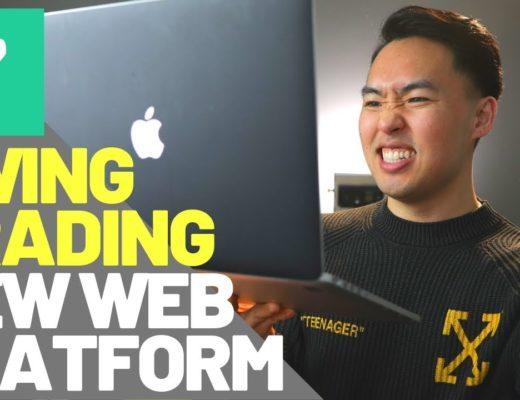 SWING TRADING With Robinhood App NEW WEB PLATFORM