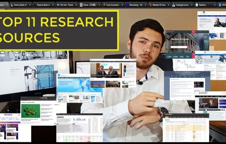 Top 11 trading research sources used by pro-traders  | Forex, Commodities, Indices, Stocks