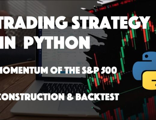 Trading strategy and Backtest in Python [Momentum of ALL S&P 500 stocks]