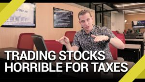 Why Trading Stocks Is Horrible From a Tax Perspective