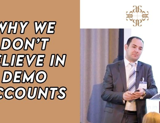 Why We Don't Trade Demo – Karim Yousfi – London Forex Expo Event
