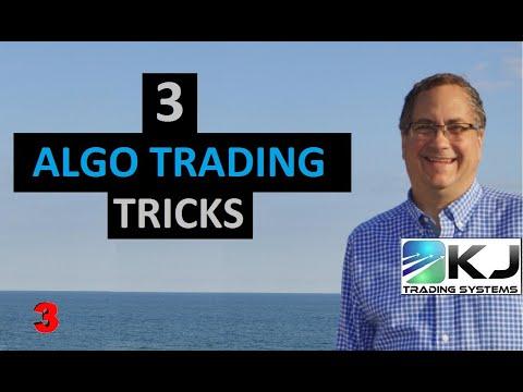 Algo Strategies I am Trading Today, Plus 3 Algorithmic Trader Tricks, Forex Algorithmic Trading Strategy