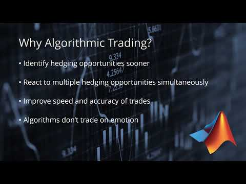 Algo Trading is Easy with MATLAB, Forex Algorithmic Trading With Matlab