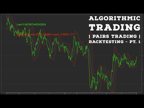 Algorithmic Trading  Pairs Trading Pt.1 - Backtesting, Forex Algorithmic Trading Znga