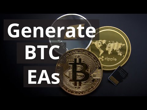 Cryptocurrency Algorithmic Trading Course: Generate BTC EAs