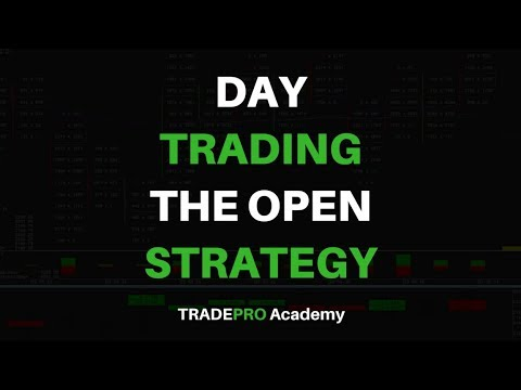 Day Trading Strategy - How to Trade the US Open Like a Professional Trader