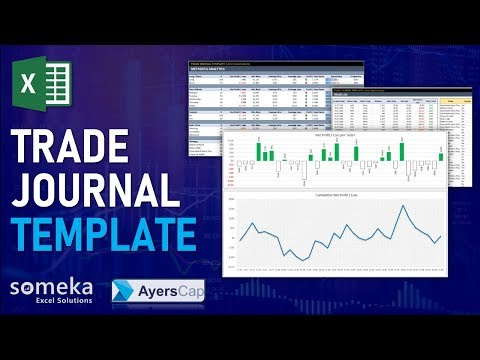 Excel Trading Journal Template | Trade Tracking Spreadsheet Template, Forex Position Trading Journal Template