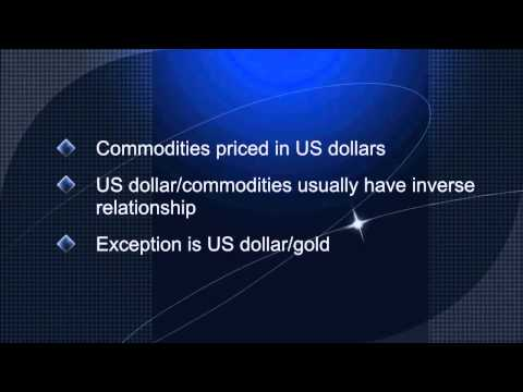 Forex trading - gold and the US dollar explained, Forex Event Driven Trading Knowledge