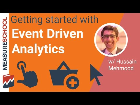 Getting Started with Event-driven Analytics feat. Hussain Mehmood, Event Driven Strategies