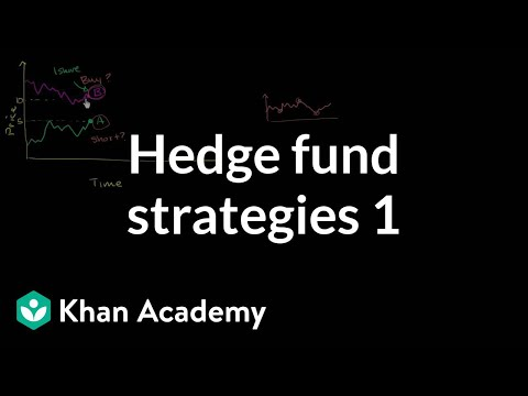 Hedge fund strategies: Long short 1 | Finance & Capital Markets | Khan Academy, Event Driven Strategies