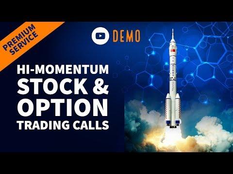 Hi-Momentum Stock & Option Trading Calls, Momentum Options Trading Review