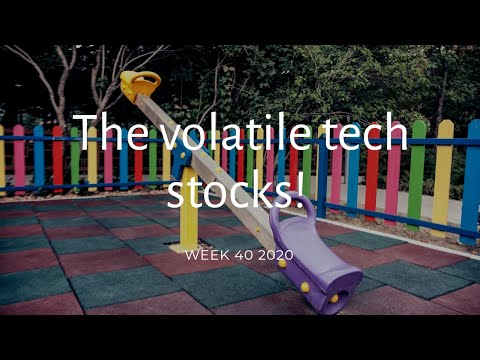 How to do momentum trading : The volatile Tech stocks! Week 40 2020