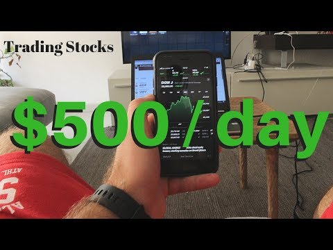 How To Make $500+ a Day Trading The Stock Market (Step-by-Step)
