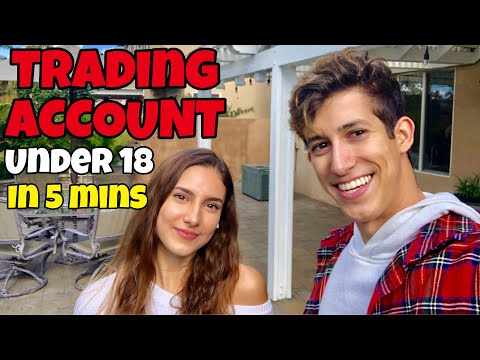 HOW TO: OPEN A TRADING ACCOUNT UNDER 18 | CUSTODIAL ACCOUNT