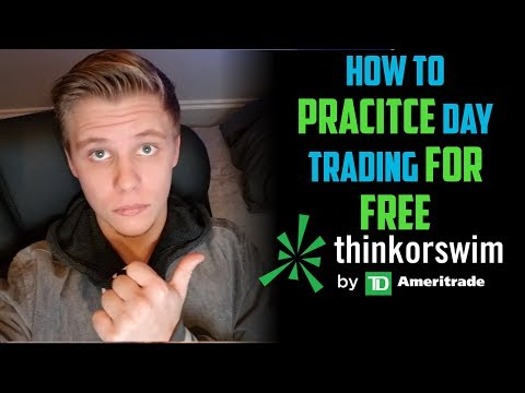 How To Paper Trade on ThinkOrSwim 2018   Penny Stock Day Trading For Beginners 2018