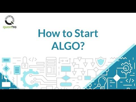 How to start Algorithmic Trading?, Forex Algorithmic Trading For Dummies