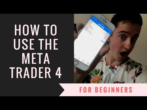 HOW TO USE META TRADER 4 (Mobile App)