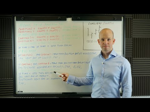 HOW TO WRITE A TRADING ALGORITHM, Algorithmic Forex Trading Strategies