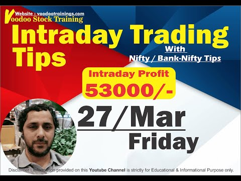 Intraday Jackpot for 27 Mar   Free Intraday Trading Tips   Intraday Trading Strategies For Beginners
