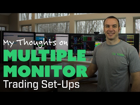 My Thoughts on Multiple Monitor Trading Set-Ups, Forex Position Trading Monitors