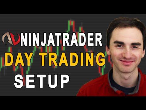 NinjaTrader Day Trading Chart Setup And Demo Account