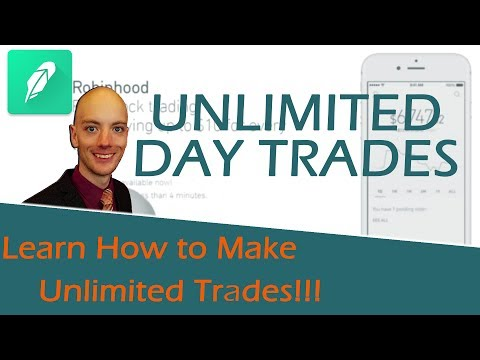 Robinhood Unlimited Day Trades - How to Get Around the Pattern Day Trader Rule