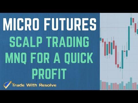 Scalp Trading MNQ Micro Futures for Profit, Scalper Micro Trading EN