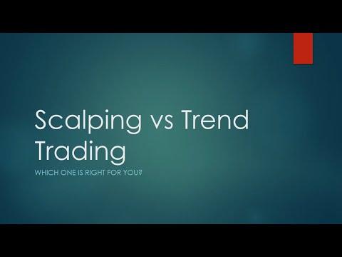 Scalping vs Trend Trading