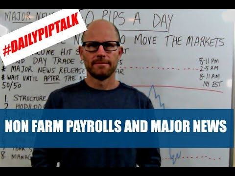 SIMPLE FOREX TRADING – NON FARM PAYROLLS AND MAJOR NEWS EVENTS