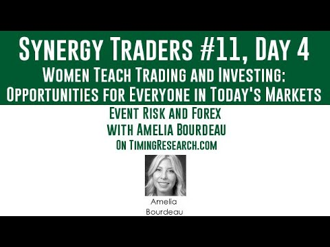 Synergy Traders #11.25: Event Risk and Forex with Amelia Bourdeau