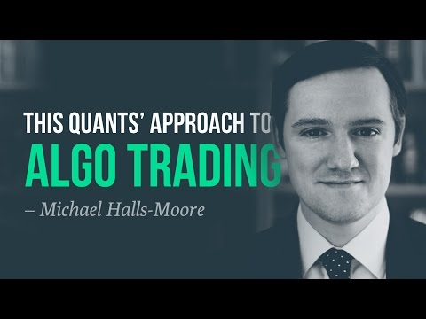 This quants' approach to algorithmic trading—Michael Halls-Moore, QuantStart, Forex Algorithmic Trading Questions
