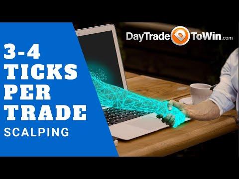 Trade Scalper - 3-4 Ticks Per Trade, Trade Scalper Software
