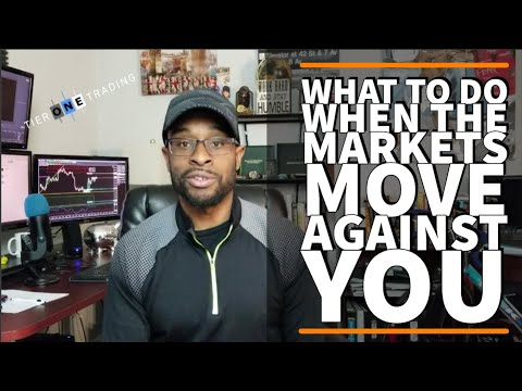 TRADING EDGE 213 - What To Do When A Trade Goes Against You, Forex Position Trading With Cody