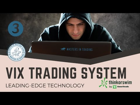 VIX TRADING SYSTEM - $VIN $VIX $VIF - Part 3, Forex Algorithmic Trading Vix