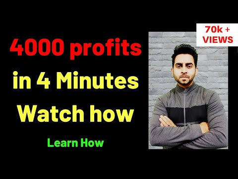 WATCH- How i Made 4000 Profits in 4 Minutes - LIVE TRADING-CONCEPT OF SCALPING I SuperTrader Lakshya, Scalp Trading Methods